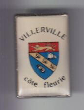 RARE PINS PIN'S .. ANIMAL COQUILLAGE SHELL MOULE BLASON ARM  VILLERVILLE 14 ~D2