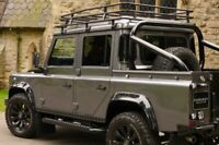 """Bison 3"""" Roll Hoop Bar Cage 90 110 Cosmetic Rear Tube Land Rover Defender Pickup"""