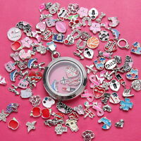 hot sale Wholesale 50p/100p/200p Floating Charms for Glass Living Memory Locket
