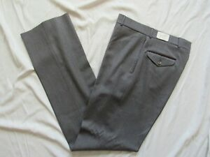 Vtg NOS 80s LL Bean Whipcord Wool Trouser Pant Slacks NWT USA Made 32.5x37.5 New