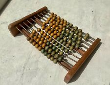Vintage Wooden Abacus, Hand Made from Old Bulgarian School