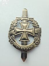 World War 11 Two  German Wehrmacht Badge Quality replica