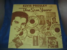 ELVIS PRESLEY: The Sun Years SUN RECORDS Interviews Memories LP[INV-36]