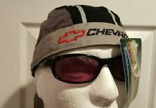 Chevrolet Gray Du Rag Head Wrap Biker Bandana