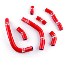 For Honda CRF450R CRF 450 R 2009-2012 Silicone Radiator Coolant Hose Kit Red