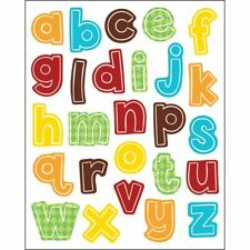 Hipster Alphabet Lowercase Letters Shape Stickers Carson Dellosa Cd-168212