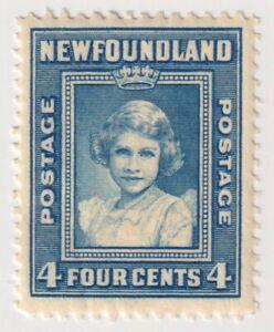 1938-1944 Newfoundland - Royal Family - 4 Cent Stamp