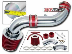 "07-10 Dodge Nitro 3.7 V6 Cold Air Intake +RED Filter 3"""