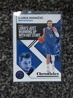 Panini Basketball Chronicles 2019-20 Luka Doncic Chronicles #15