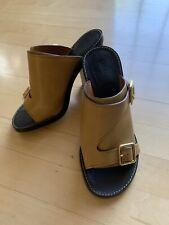 Chloe Wedge Sandals. 6.5/37. GD
