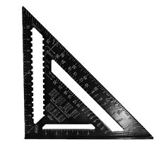 12inch Aluminum Alloy Speed Square Rafter Triangle Angle Square Layout Guide