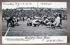 1905 Football Game FRANKLIN FIELD UNIVERSITY PENNSYLVANIA Philadelphia postcard