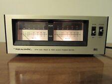 Vintage Realistic APM-200 Audio Power Meter Peak & RMS Stereo Meter WORKS