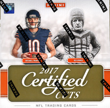2017 PANINI DONRUSS CERTIFIED CUTS HOBBY FOOTBALL BOX - BUY 2 OR MORE  & SAVE !