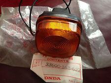 GENUINE HONDA  XL125 S 1980  REAR RIGHT INDICATOR  33600-168-622  NOS