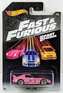 Honda S2000 > Pink > Hot Wheels > Fast & Furious > 2018 > New