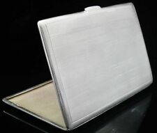 Birmingham Post - 1940 Antique Solid Silver Cigarette/Vesta Cases