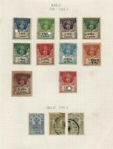 INDIAN STATES: Morvi State Revenues- Ex-Old Time Collection - Album Page (40753)