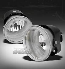 05-10 CHRYSLER 300C/08-09 DODGE CALIBER SRT-4 BUMPER CHROME FOG LIGHTS LAMP+BULB