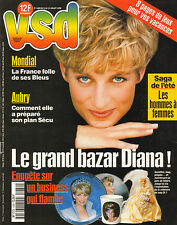 VSD N°1089 diana howard hugues alexandra nechita martine aubry 1998