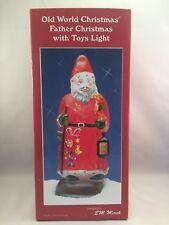 Old World Christmas - Father Christmas with Toys Light (1993)