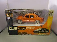 JADA 1/24 DUB CITY *VHTF ORANGE* 2001 CHEVY AVALANCHE TRUCK *DAMAGED BOX*