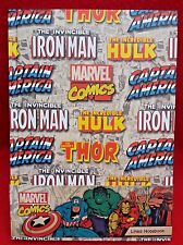 Marvel Comics - Capt America - Iron Man - A5 - Lined Notebook - Gift - Brand New