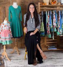 Matilda Jane Womens Grain Silo Maxi Skirt Joanna Gaines Magnolia Market Medium