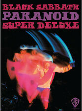 Paranoid [Bonus Discs] by Black Sabbath (CD, Nov-2016, 4 Discs, Rhino (Label))