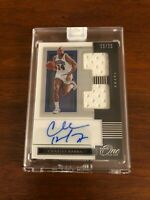 2019-20 ONE AND ONE CHARLES BARKLEY PATCH AND ON CARD AUTO 10/25 76ERS MINT !!!