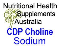 Citicoline Sodium (CDP Choline Sodium) 100g Bulk Powder
