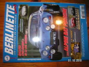 Berlinette n°33 A110 cabriolet Megane II Golf IV R 32