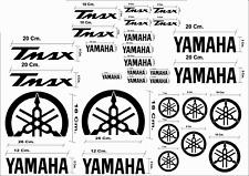 MAXI KIT 30 PEZZI SERIE DI ADESIVI YAMAHA TMAX T- MAX 500 - 530 COLORE NERA