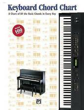 NEW Keyboard Chord Chart by Alfred Publishing