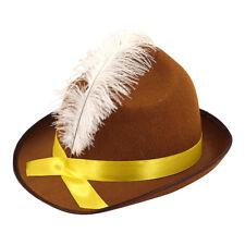 Beer Festival Bavarian Oktoberfest Fancy Dress Brown Costume Party Hat