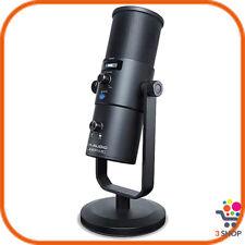 Microfono USB per pc e registrazione cardioide dinamico con supporto da tavolo