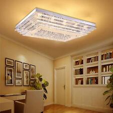 72W LED Kristall Deckenleuchte Wandlampe Deckenlampe für Wohnzimmer Glas Lampe