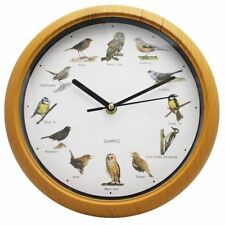 Quartz (Battery Powered) Birds Plastic Wall Clocks