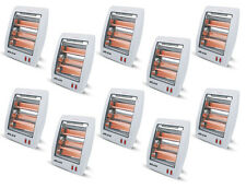Box of 10 New DLUX Infrared Quartz Space Heaters Energy Efficient 400/800 Watts