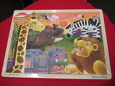 Melissa & Doug # 2937 -  AFRICAN PLAINS 24-piece Jigsaw Puzzle Ages 3+