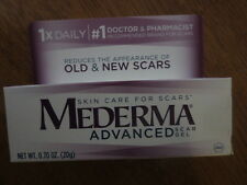 NEW MEDERMA ADVANCED SCAR GEL Doctor Recommended#1 EXP Date07/2018!