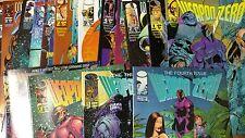 Alternative Comic lot Weapon Zero 1-9 11-15 T1-T4 VF+ bagged