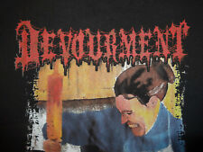 Devourment Shirt XL Death Metal Guttural Secrete Abominable Putridity