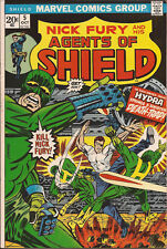 SHIELD #5 Marvel Nick Fury HYDRA Dreadnought Dugan Jim Steranko Roy Thomas FN/VF
