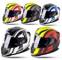 Motorradhelm  Helm Sonnenblende Moped Komplett Schutz Nitro NRS 01 DVS XS- 2XL