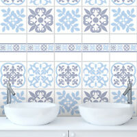 Traditional Tile Stickers Transfers for Kitchen Bathroom Furniture DIY - T12