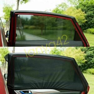 Car Sun Shade Shield Socks Rear Side Window Large Square Cover Mesh for Kids