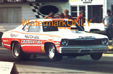 """Butch """"California Flash"""" Leal 1973 Plymouth Duster Pro Stocker PHOTO!"""