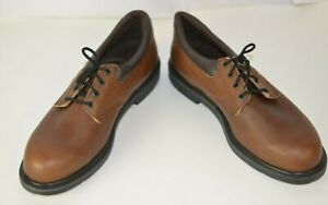 Red Wing Men's Leather Shoes Lace Up Oxfords Size 14 D Career Work Brown USA