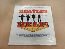 "VINTAGE LP : THE BEATLES "" HELP! ""  1ST PRESS FACTORY SEALED CAPITOL MONO"